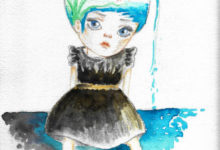 Select Watercolor & Mixed Media Works